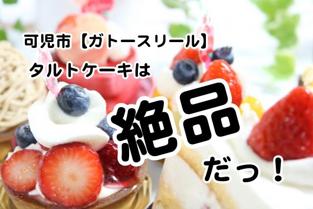 可児市【ガトースリール】タルトケーキは絶品だっ!