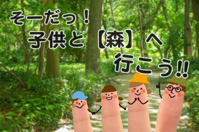 そうだ!子供と森へ行こう!