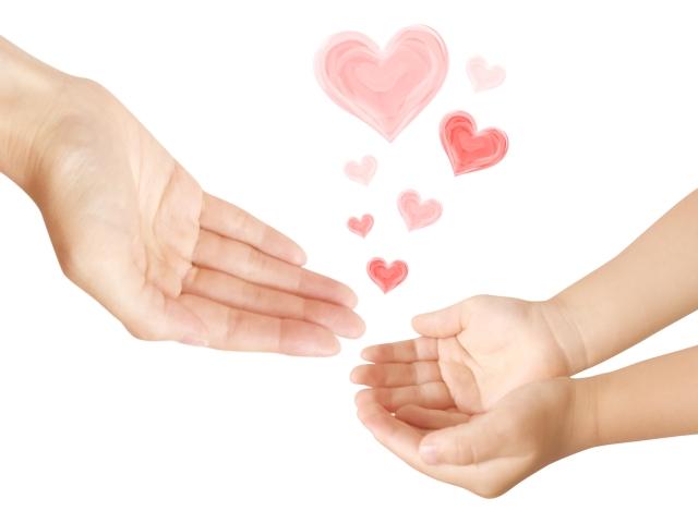 親から子への愛情