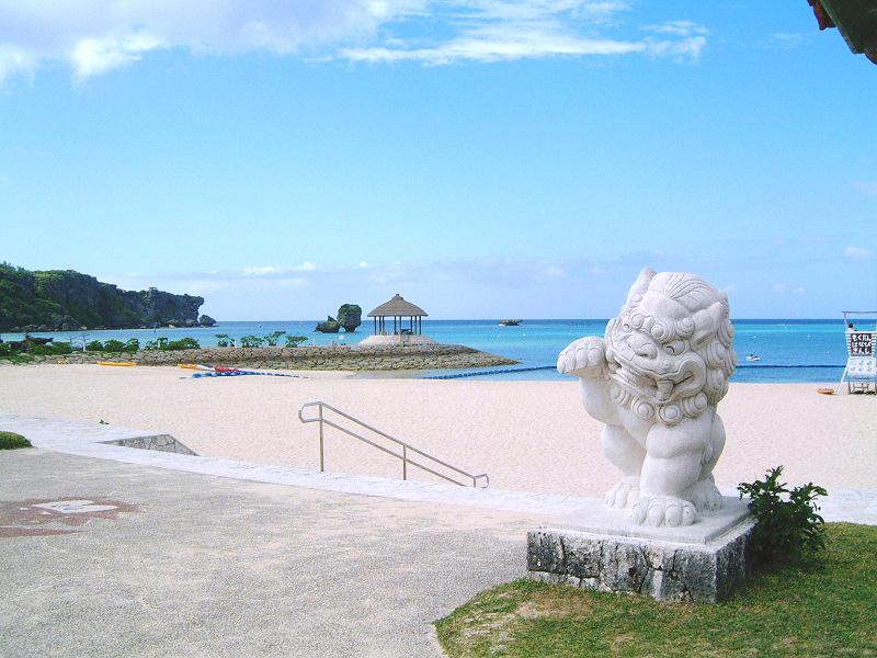 恩納海浜公園ナビ―ビーチ
