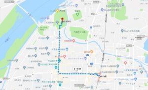 犬山駅西口から針綱神社