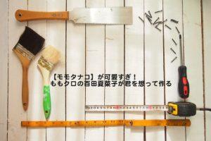 【モモタナコ】が可愛すぎ!ももクロの百田夏菜子が君を想って作る