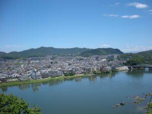 犬山城から見る景色