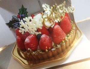 たんど~るの苺タルトケーキ