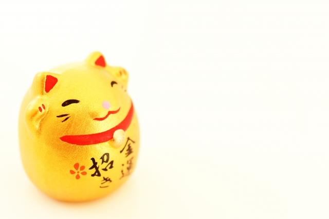 金運招き猫