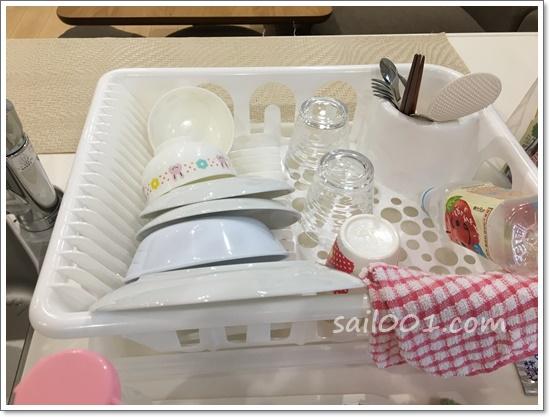 【和み】食器を乾かす