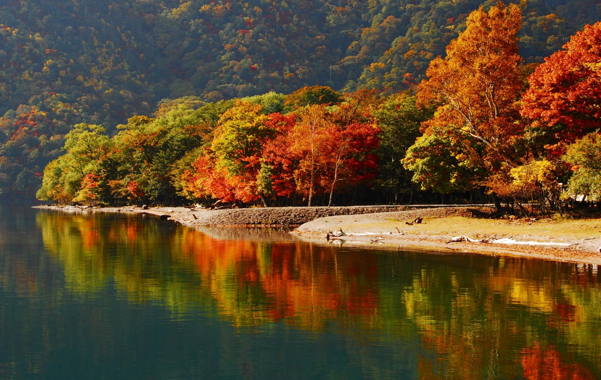中禅寺湖 紅葉