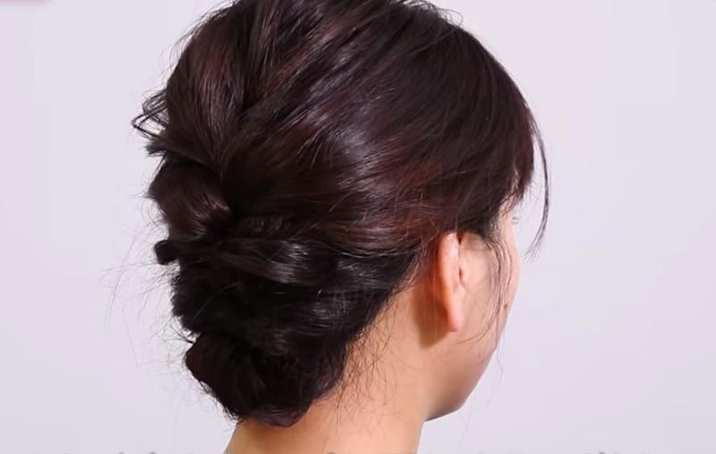 ミディアムのヘア
