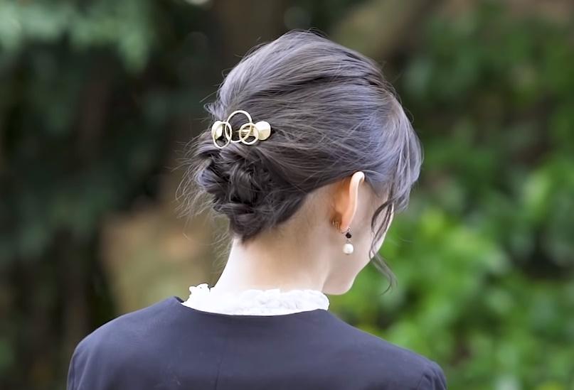 ミディアムヘアスタイル